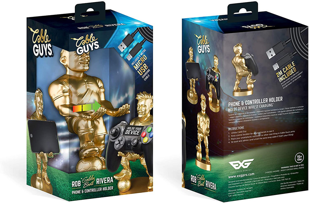 ROB 'GOLDEN BOOTS' RIVERA CABLE GUY MOBILE PHONE & CONTROLLER HOLDER