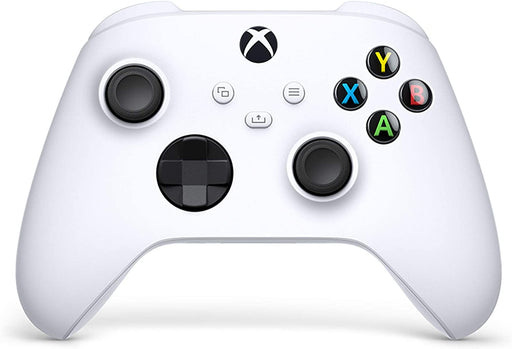 MICROSOFT XBOX SERIES X S & XBOX ONE WIRELESS CONTROLLER - ROBOT WHITE