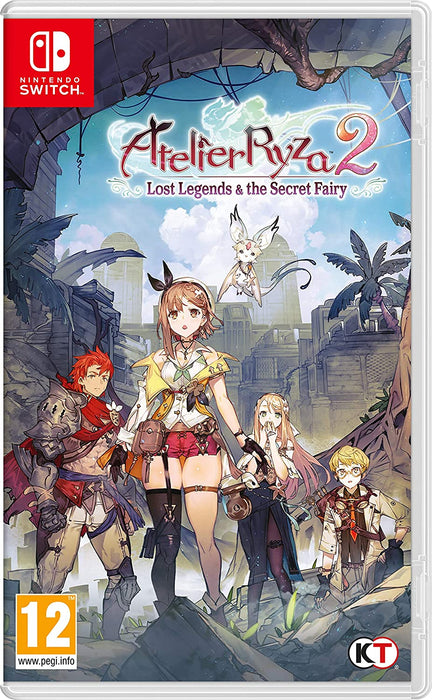 ATELIER RYZA 2: LOST LEGENDS & THE SECRET FAIRY - NINTENDO SWITCH GAME