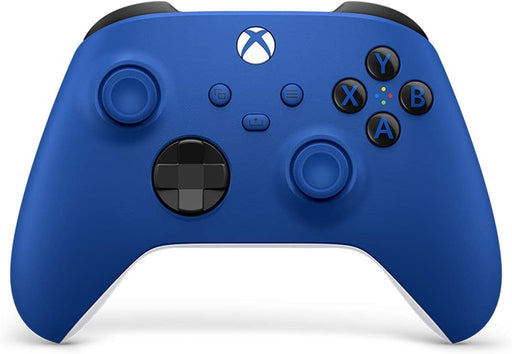 MICROSOFT XBOX SERIES X S & XBOX ONE WIRELESS CONTROLLER - SHOCK BLUE