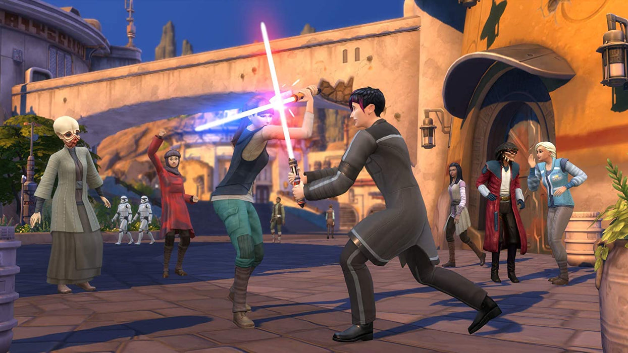 THE SIMS 4 STAR WARS BUNDLE: JOURNEY TO BATUU - PC GAME