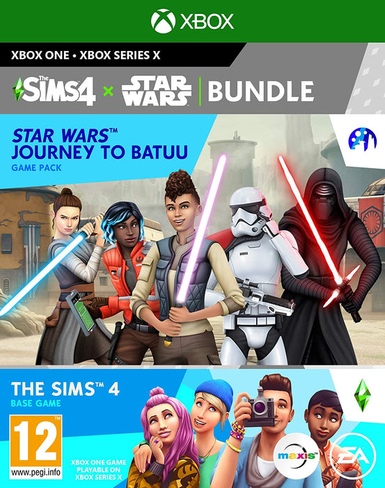 THE SIMS 4 STAR WARS BUNDLE: JOURNEY TO BATUU - XBOX ONE GAME