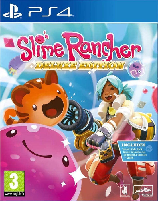 SLIME RANCHER DELUXE EDITION - PS4 GAME