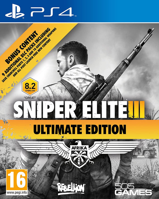 SNIPER ELITE III: ULTIMATE EDITION - PS4 GAME