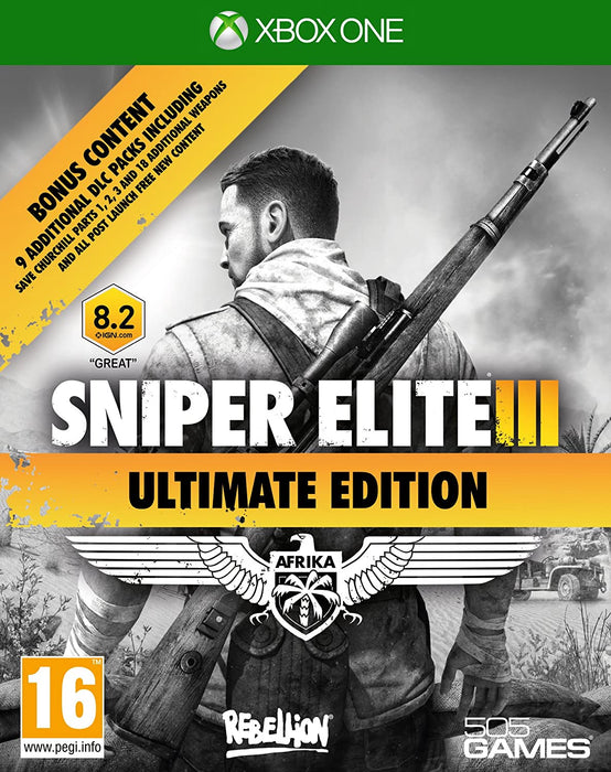 SNIPER ELITE III: ULTIMATE EDITION - XBOX ONE GAME