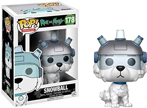 FUNKO POP! ANIMATION: RICK AND MORTY SNOWBALL #178