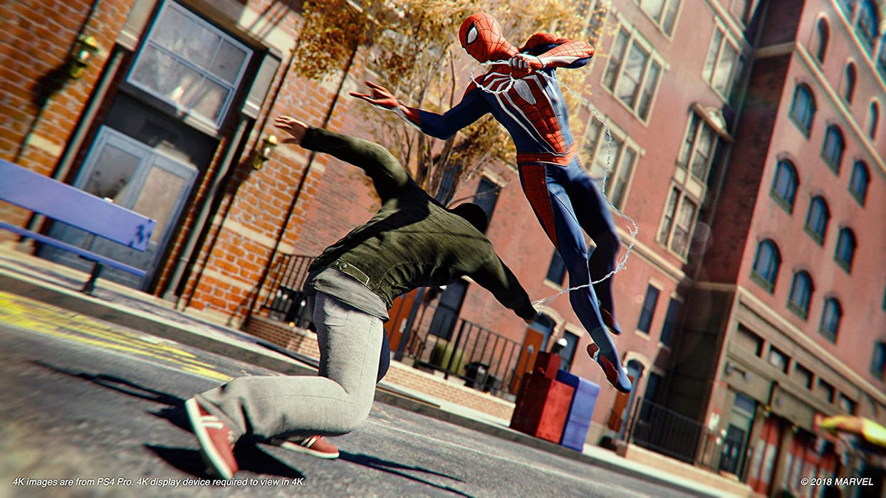 SPIDER-MAN GAME OF THE YEAR EDITION - PS4 GAME