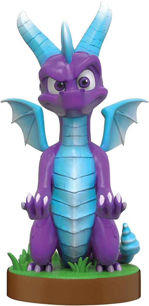 SPYRO THE DRAGON (ICE) CABLE GUY MOBILE PHONE & CONTROLLER HOLDER