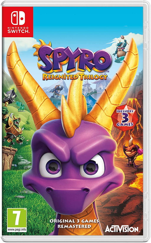 SPYRO REIGNITED TRILOGY - NINTENDO SWITCH GAME