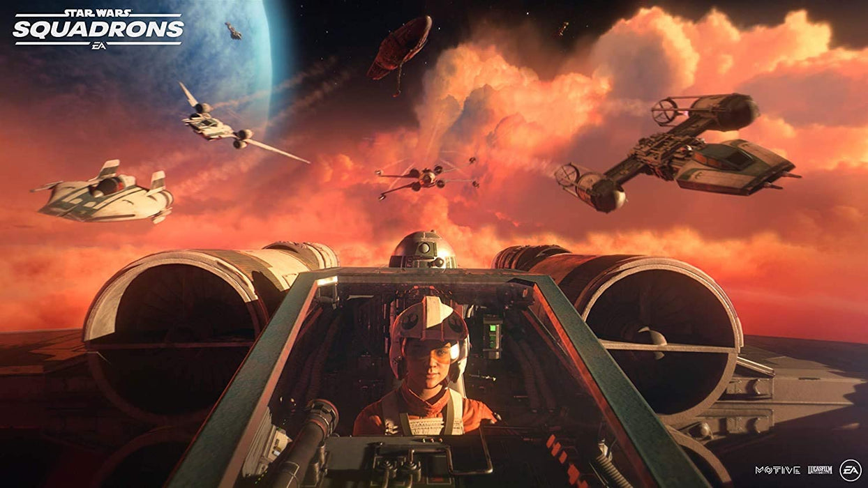 STAR WARS SQUADRONS - XBOX ONE & SERIES X GAME