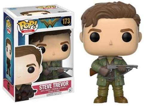 FUNKO POP! HEROES: WONDER WOMAN STEVE TREVOR #173