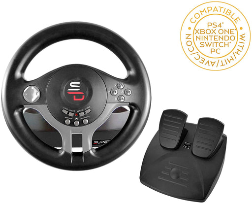 SUBSONIC SUPERDRIVE RACING WHEEL - MULTI-PLATFORM