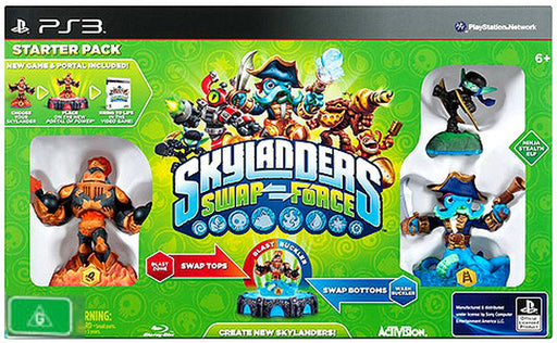 SKYLANDERS SWAP FORCE STARTER PACK - PS3 GAME (DAMAGED PACKAGING)