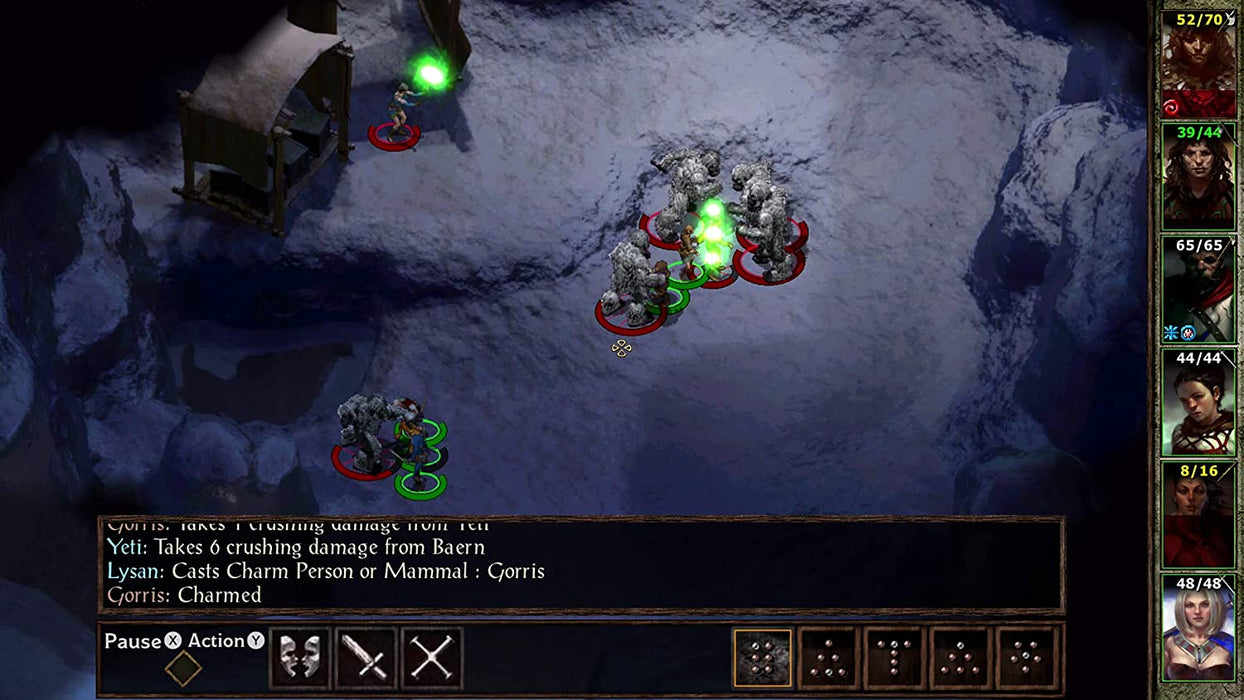 PLANESCAPE: TORMENT & ICEWIND: DALE ENHANCED EDITIONS - PS4 GAME