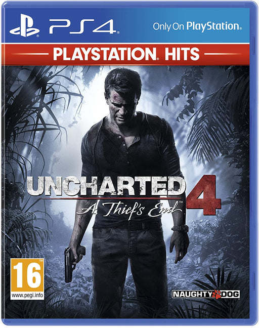 UNCHARTED 4: A THIEF'S END - PLAYSTATION HITS - PS4 GAME