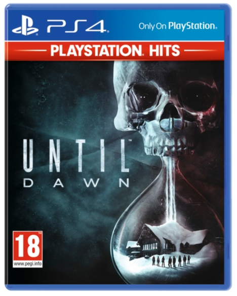 UNTIL DAWN - PLAYSTATION HITS - PS4 GAME