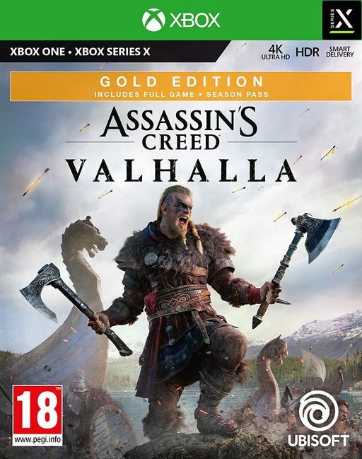 ASSASSINS CREED: VALHALLA GOLD EDITION - XBOX ONE & SERIES X GAME