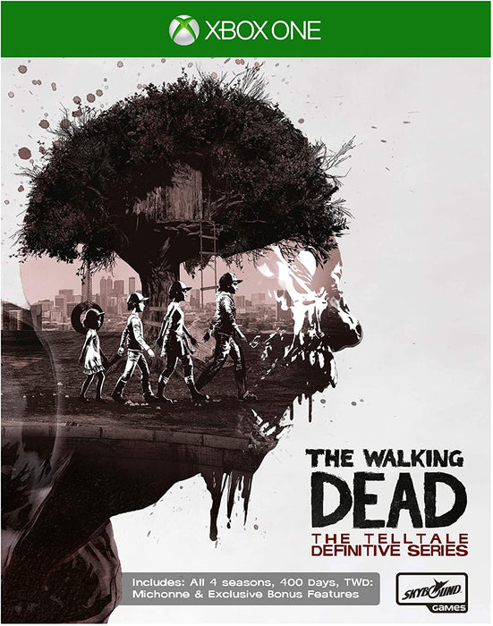 THE WALKING DEAD: THE TELLTALE DEFINITIVE SERIES - XBOX ONE GAME
