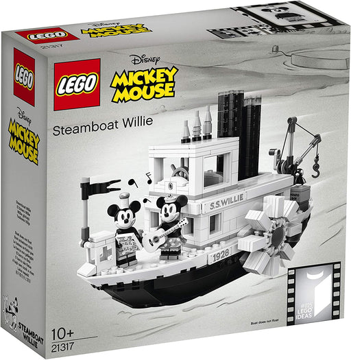 LEGO 21317 DISNEY MICKEY MOUSE STEAMBOAT WILLIE