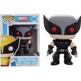 FUNKO POP! MARVEL: X-FORCE WOLVERINE (BLACK & GREY) #05