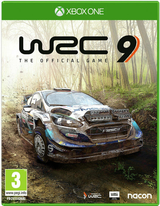 WRC 9 THE OFFICIAL GAME - XBOX ONE & SERIES X GAME