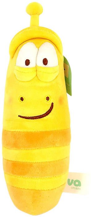 LARVA 12'' PLUSH TOY WITH SOUNDS - YELLOW