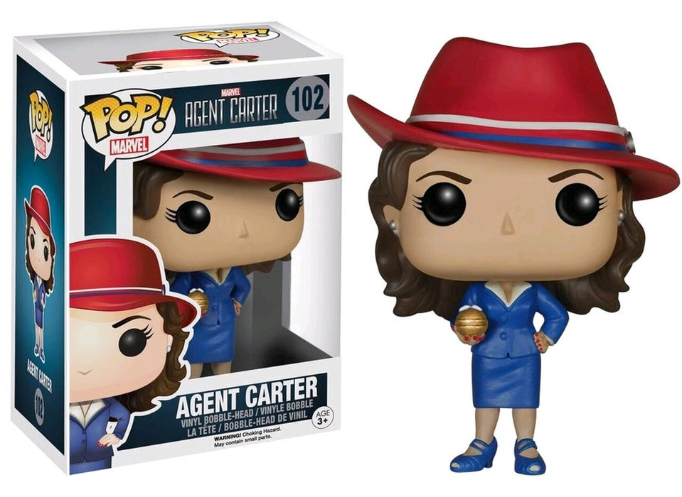 FUNKO POP! MARVEL: MARVEL'S AGENT CARTER #102