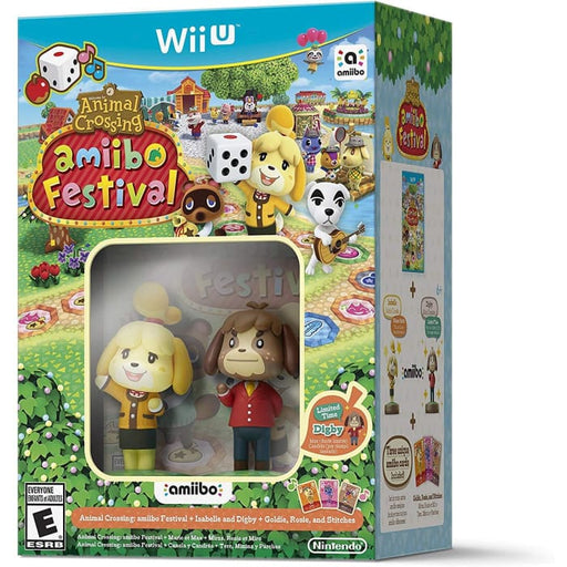 AMIIBO FESTIVAL ANIMAL CROSSING - WII U