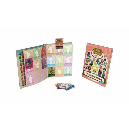 ANIMAL CROSSING AMIIBO CARDS COLLECTORS ALBUM SERIES 4 NINTENDO 3DS WII U