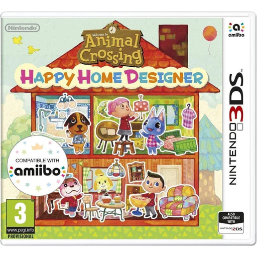 ANIMAL CROSSING: HAPPY HOME DESIGNER - NINTENDO 3DS GAME