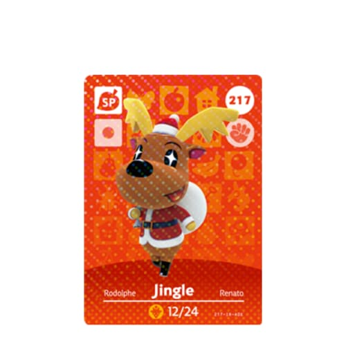 ANIMAL CROSSING: SERIES 3 - AMIIBO CARD - JINGLE NO.217 - NINTENDO 3DS