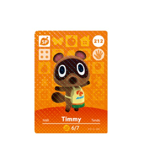 ANIMAL CROSSING: SERIES 3 - AMIIBO CARD - TIMMY NO.212 - NINTENDO 3DS