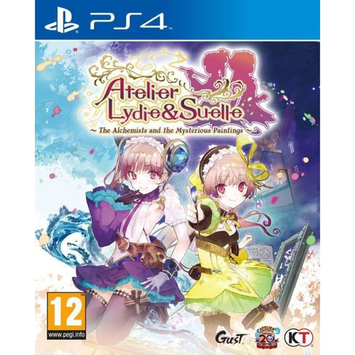 ATELIER LYDIE & SUELLE - THE ALCHEMISTS AND THE MYSTERIOUS PAINTINGS - PS4 GAME