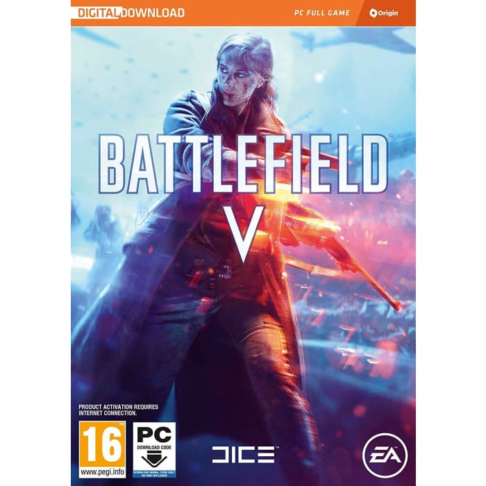 BATTLEIELD V (CODE IN A BOX inc FIRESTORM - PC GAME