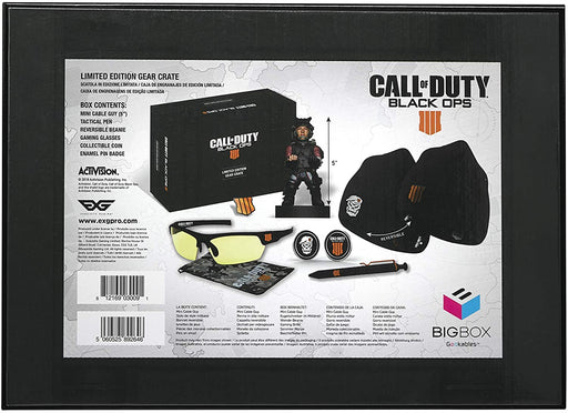 CALL OF DUTY: BLACK OPS IIII LIMITED EDITION GEAR CRATE