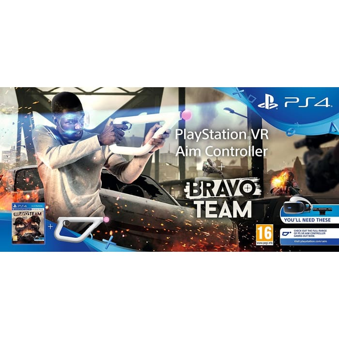 BRAVO TEAM & AIM CONTROLLER - PSVR REQUIRED - PS4 GAME