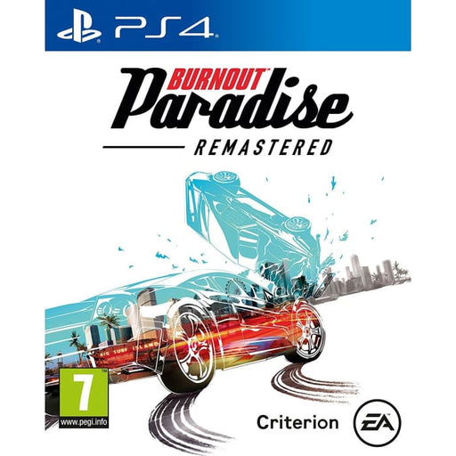 BURNOUT PARADISE REMASTERED - PS4 GAME
