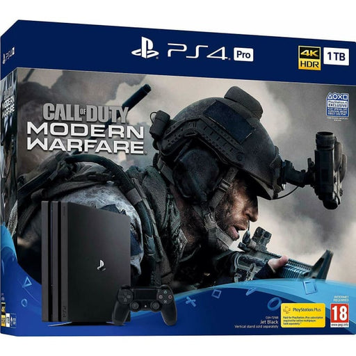 CALL OF DUTY MODERN WARFARE PS4 PRO 1TB CONSOLE BUNDLE