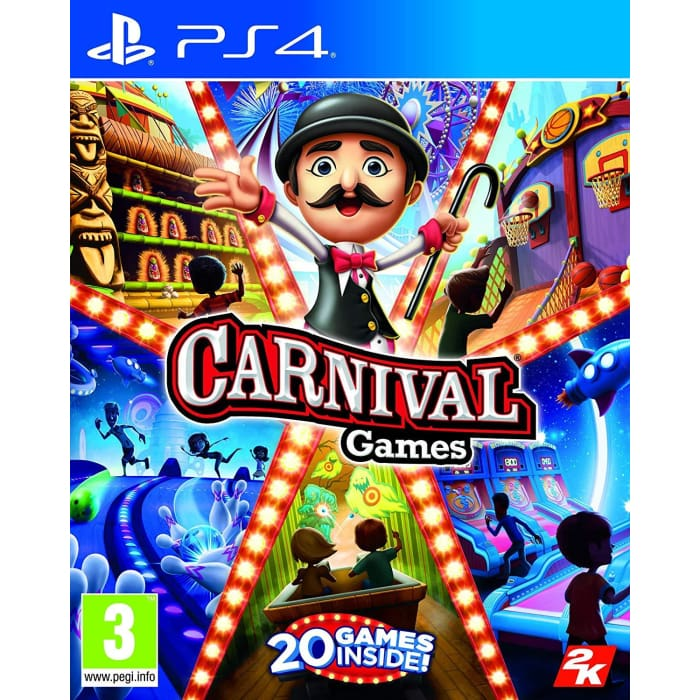 CARNIVAL GAMES - PS4 GAME