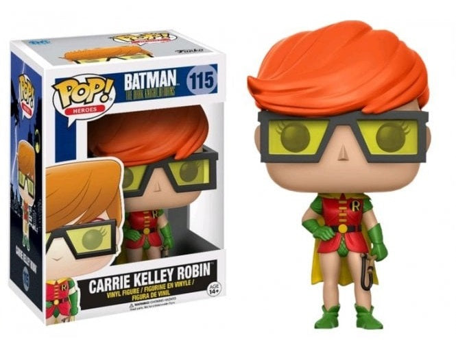 FUNKO POP! HEROES: BATMAN THE DARK KNIGHT RISES CARRIE KELLY AS ROBIN #115