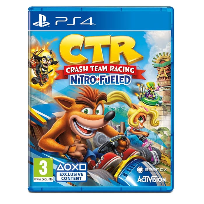 CRASH TEAM RACING - PS4 GAME