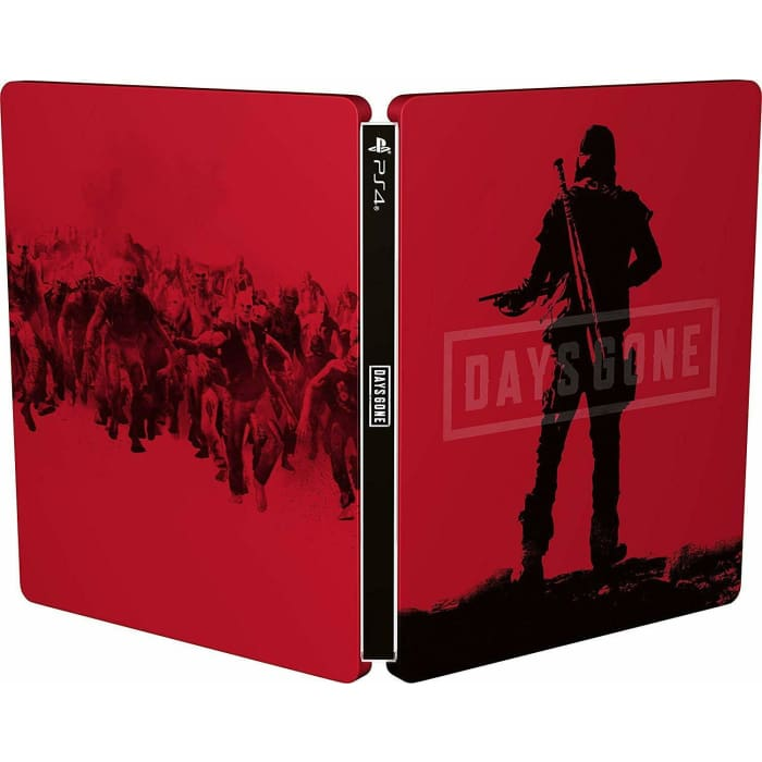 DAYS GONE STEELBOOK ONLY PS4 (NO GAME)