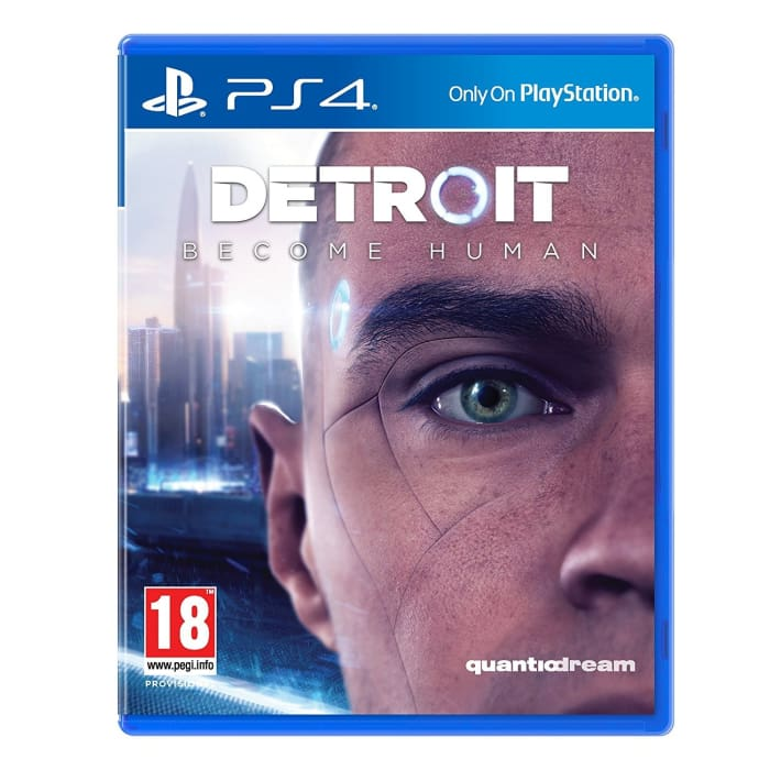 DETROIT BECOME HUMAN - PS4 GAME