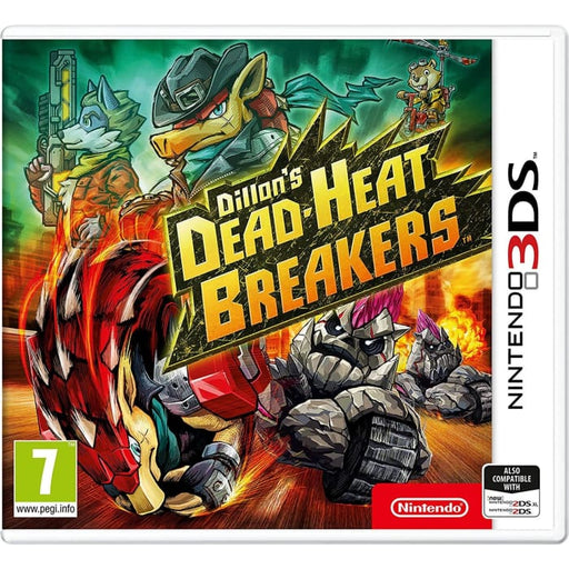 DILLONS DEAD-HEAT BREAKERS - NINTENDO 3DS GAME