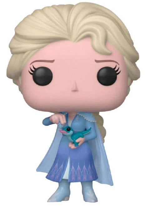 FUNKO POP! DISNEY FROZEN II ELSA WITH SALAMANDER #716