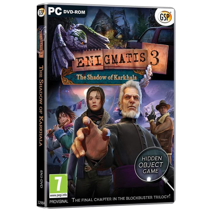ENIGMATIS 3 - THE SHADOW OF KARKHALA - PC GAME