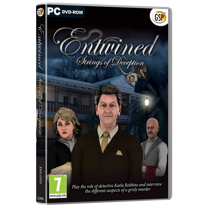 ENTWINED - STRINGS OF DECEPTION - MURDER MYSTERY - PC GAME
