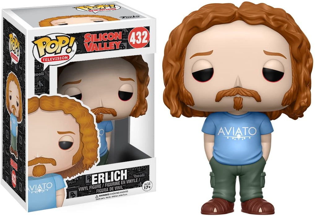 FUNKO POP! TELEVISION: SILICON VALLEY ERLICH #432