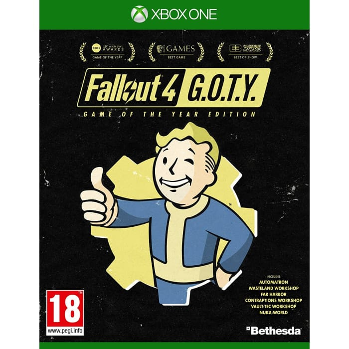 FALLOUT 4 GOTY - XBOX ONE GAME
