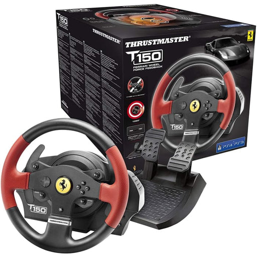 FERRARI THRUSTMASTER T150 RACING WHEEL FOR PS3 & PS4